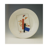 Plate with Suprematist Decoration Giclee Print by Kasimir Severinovich Malevich