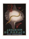 Aquarium of Monaco, 1926 Giclee Print