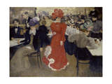 In the Café D'Harcourt at Paris Giclee Print by Henri Jacques Edouard Evenepoel