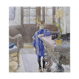 Portrait of Tage Thiel Giclee Print by Carl Larsson