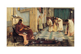 The Favourites of the Emperor Honorius, 1883 Giclee Print by John William Waterhouse