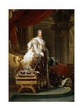 King Charles X of France Giclee Print by François Pascal Simon Gérard