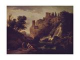 Waterfall in Tivoli, 1747 Giclee Print by Claude Joseph Vernet