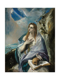 The Repentant Mary Magdalene Giclee Print by  El Greco