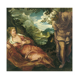 The Meeting of Judah and Tamar Giclee Print by Jacopo Tintoretto