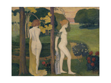 Two Nude in a Landscape Giclee Print by Aristide Maillol