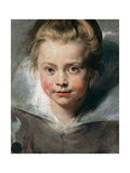 Portrait of Clara Serena Rubens Giclee Print by Pieter Paul Rubens