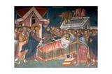 The Healing the Paralytic at Capernaum, Ca 1350 Giclee Print