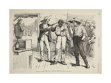 Of Course He Wants to Vote the Democratic Ticket, 1876 Giclee Print by Arthur Burdett Frost