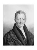 Portrait of Thomas Robert Malthus (1766-183) Giclee Print by John Linnell