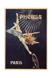 Cycles Phébus, Ca 1896 Giclée-tryk af Henri Gray