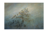 Morning Mist in the Mountains, 1808 Giclee Print by Caspar David Friedrich