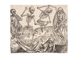 Dance of Death (From the Schedel's Chronicle of the Worl) Giclee Print by Michael Wolgemut