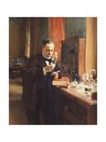 Louis Pasteur Giclee Print by Albert Gustaf Aristides Edelfelt