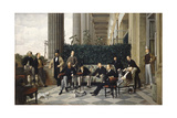 The Circle of the Rue Royale, 1868 Giclee Print by James Jacques Joseph Tissot