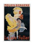 Loïe Fuller Giclee Print by Jules Chéret