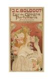 Eau De Cologne Perfumerie, 1899 Giclee Print by Henri Privat-Livemont