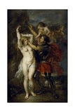 Andromeda Freed by Perseus, 1641-1642 Giclee Print