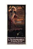 Exposition Décennale De L'Automobile Au Grand Palais, 1907 Giclee Print by Georges Antoine Rochegrosse