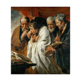 The Four Evangelists Giclee Print by Jacob Jordaens