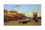 The Circus Maximus Giclee Print by Jean-Léon Gerôme