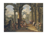 The Pool of Bethesda Giclee Print by Giovanni Paolo Panini