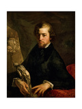 Portrait of Charles-André Langevin Giclee Print by Jean-François Millet