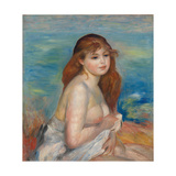 After the Bath Giclee Print by Pierre-Auguste Renoir
