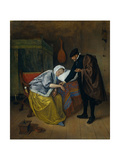 Sick Woman Giclee Print by Jan Havicksz Steen