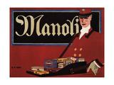 Manoli, 1911 Giclee Print by Hans Rudi Erdt