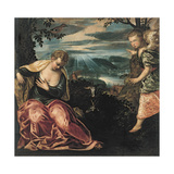The Annunciation to Manoah's Wife Giclee Print by Jacopo Tintoretto