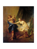 Joseph and Potiphar's Wife Giclee Print by Nicolas Bertin