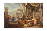 The Vocation of Saint Matthew, 1752 Giclee Print by Giovanni Paolo Panini
