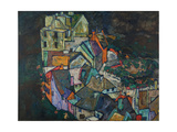 Crescent of Houses III Giclee Print by Egon Schiele