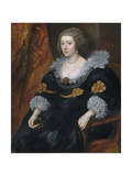 Portrait of Amalia of Solms-Braunfels (1602-167) Giclee Print by Anthonis van Dyck