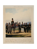 Infantry of the Russian Imperial Grenadier Corps, 1867 Giclee Print by Karl Karlovich Piratsky