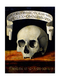 Memento Mori, Early 16th C Giclee Print by Andrea Previtali