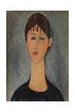 Portrait of Anna Zborowska Giclee Print by Amedeo Modigliani