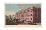 The Marble Palace in Saint Petersburg, C. 1811 Giclee Print by Henri Courvoisier-Voisin