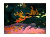 By the Sea (Fatata Te Mit) Reproduction procédé giclée par Paul Gauguin