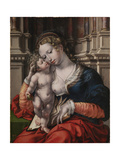 Virgin and Child Giclee Print by Jan Gossaert