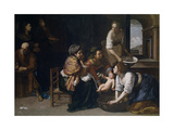 The Birth of Saint John the Baptist Giclee Print by Artemisia Gentileschi