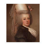 Portrait of Queen Marie Antoinette of France (1755-179), 1789 Giclee Print by Adolf Ulrik Wertmüller