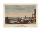 View of Moscow, Taken from the Balcony of the Imperial Palace, 1812 Giclee Print by Henri Courvoisier-Voisin