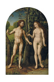 Adam and Eve Giclee Print by Jan Gossaert