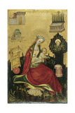The Virgin and Child in the Hortus Conclusus Giclee Print