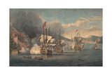 Capture of Porto Bello by Admiral Edward Vernon on 22 November 1739 Giclee Print by Samuel Scott