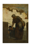 The Laundress, Ca 1863 Giclee Print by Honoré Daumier