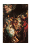 The Adoration of the Magi Giclee-trykk av Jacob Jordaens