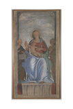 The Virgin and Child with Two Angels Giclee Print by  Bramantino